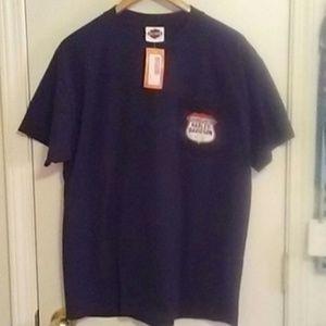 Mens Harley Davidson logo pocket t-shirt large new